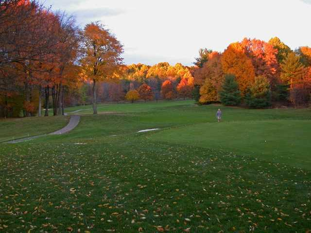 An autumn view from Fowler's Mill Golf Course