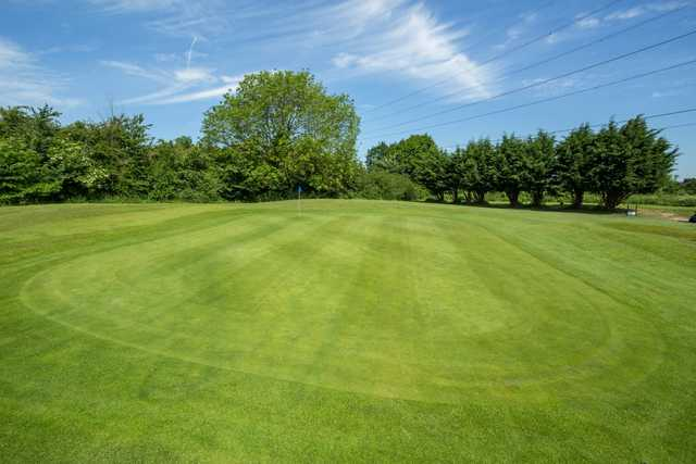 11th green at Cheshunt Park Golf Centre