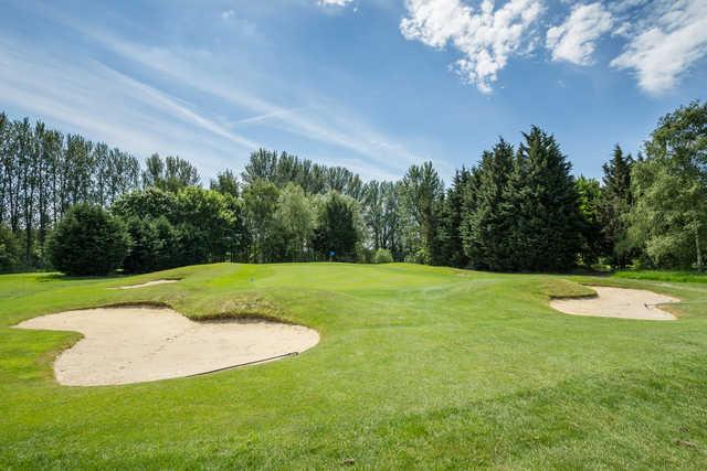 17th green Cheshunt Park Golf Centre