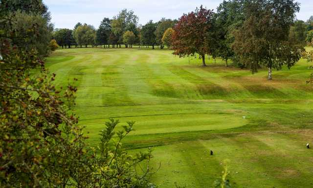 The 17th tee at Helsby Golf Club