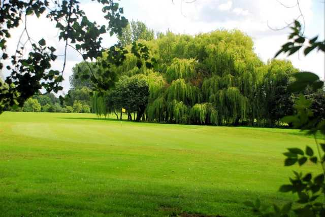 The large 3rd green at Sinfin