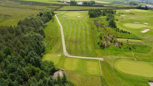 The 3rd hole at Longridge Golf Club