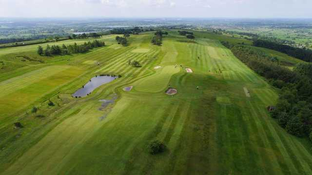 Aerial view of the golf course at Longridge Golf Club