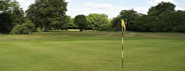 The expansive green on the 3rd will test your short game