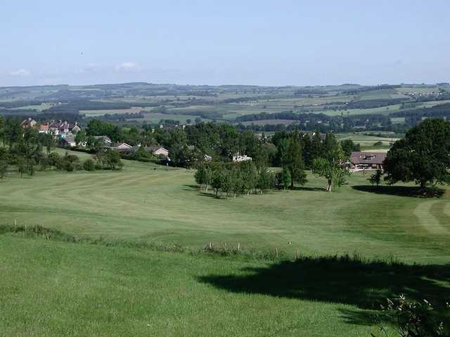 The surrounding views as seen from a fairway at Stocksfield