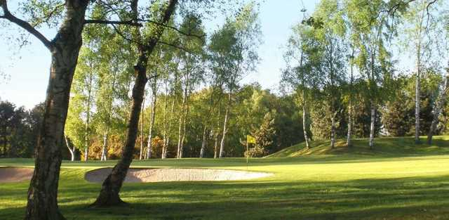 The bunker protected greens at Leeds GC
