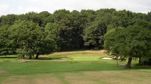 The 4th tee at Alderley Edge Golf Club