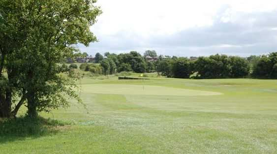 The 2nd green at Great Lever and Farnworth