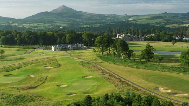 A look at the stunning clubhouse at Powerscourt Golf Club