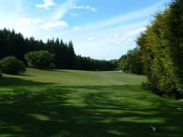 A shot of the 9th hole at Lisburn Golf Course
