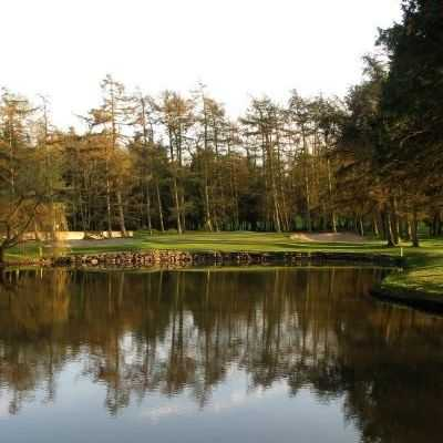The 14th hole at the Lisburn Golf Club