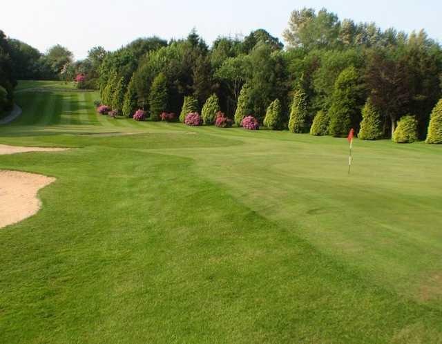 18th hole at Lisburn Golf Club