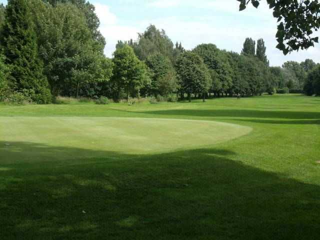 The well-kept fairways at Carholme Golf Club