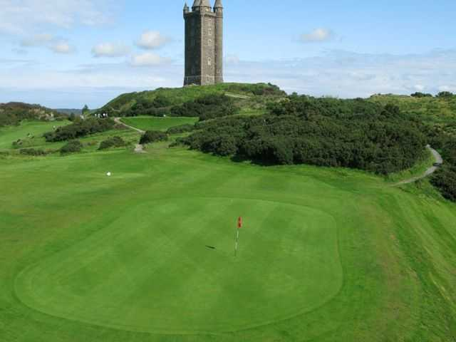 2nd hole at Scrabo Golf Club