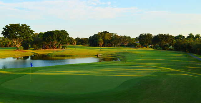 View of the 4th hole at Village Golf Course.