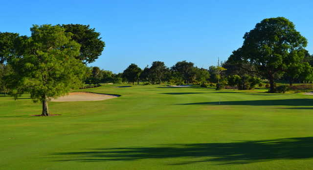 View from the 6th fairway at Village Golf Course.