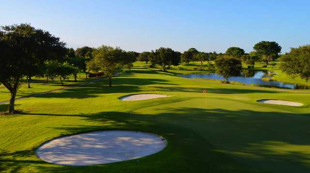 View of the 2nd hole at Village Golf Course.