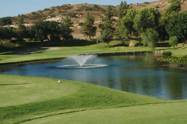 View from the 12th tee at San Vicente Golf Resort