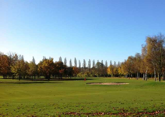 Large undualting greens will test your short game at Calderfields