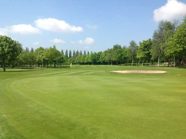 The parkland setting at Calderfields GC