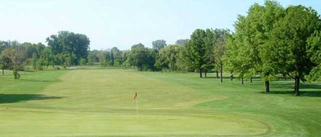 A view from Detwiler Park Golf Course