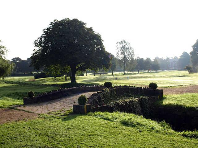 Stone bridge on the Worsley course