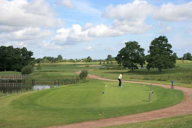 View from Studley Wood GC