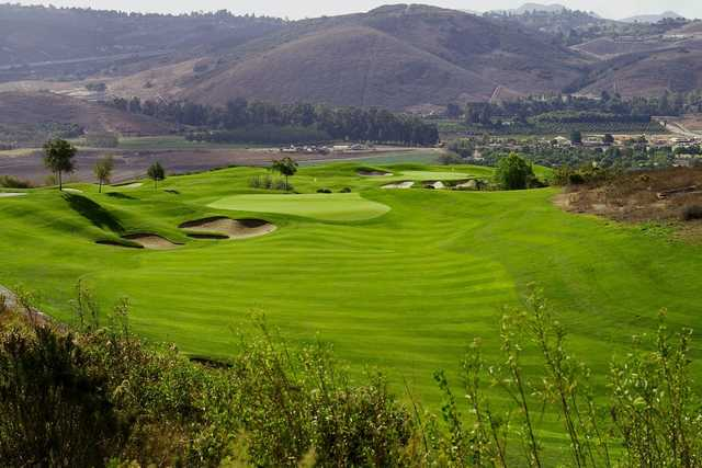 View of the 4th hole at Tierra Rejada Golf Club.