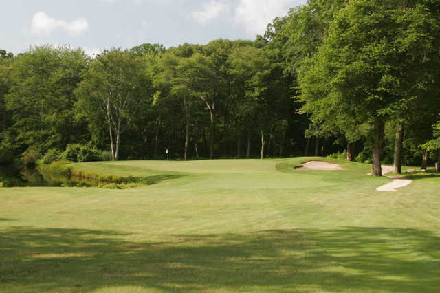 A view from the 17th fairway at Black Hall Club