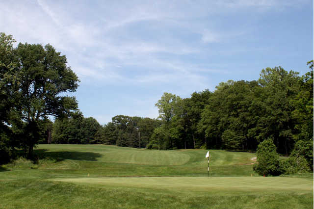 A view of a green at Country Club of New Canaan