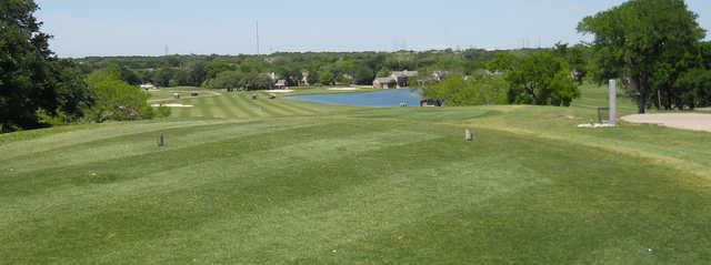 A view from a tee at Mill Creek Golf Club