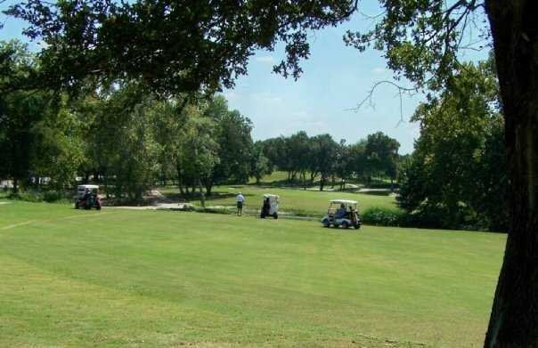 A sunny day view from Mill Creek Golf Club