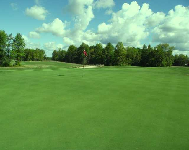 A view of the 14th hole at Seneca Hickory Stick Golf Course