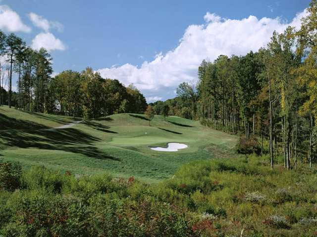 A view of a green at Woodmont Golf & Country Club