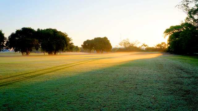 A view of a fairway at Delray Beach Golf Club