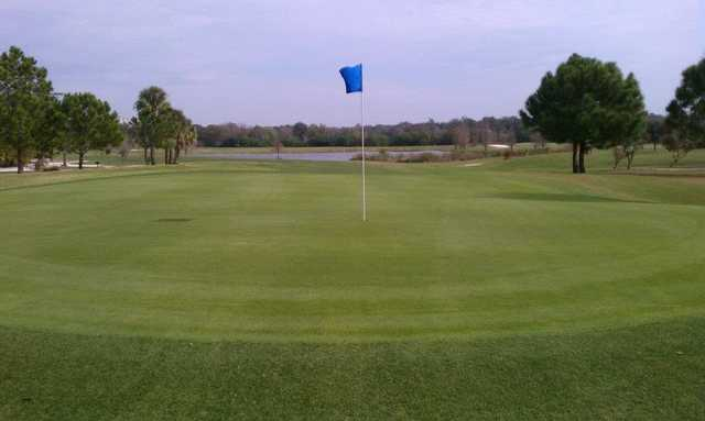 A view of hole #16 at Rogers Park Golf Course