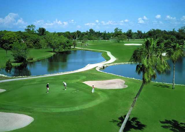 Naples Beach Hotel & Golf Club: View from #18