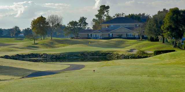 A view from tee #7 at Charger from Bay Hill Club & Lodge.
