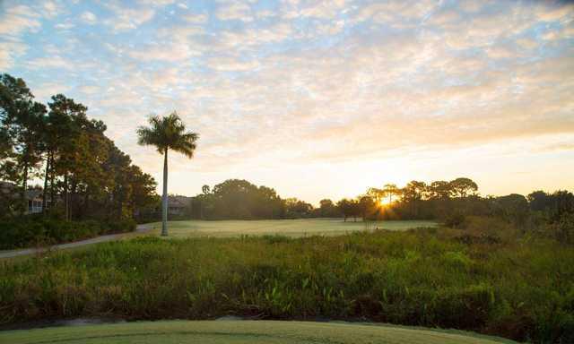 A sunny view from Bonita Bay Club