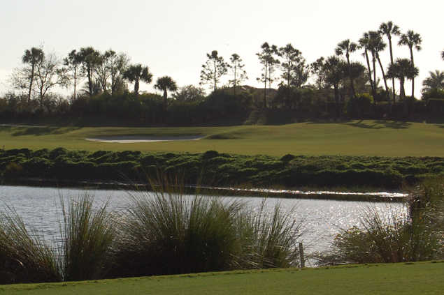 A view over the water from Country Club At Mirasol