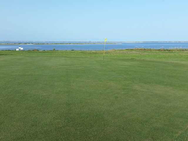 View from a green at Isle Dauphine Golf Club