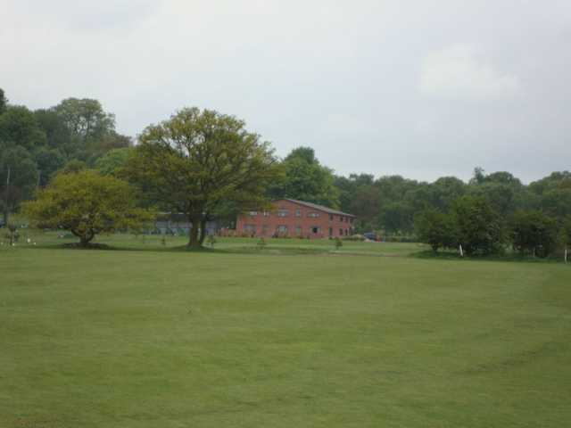 Image of the relatively flat course at Halfpenny Green Golf Club
