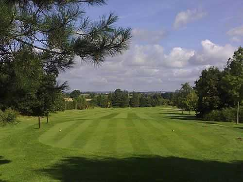 An example of the immaculate fairways  at Cosby Golf Club
