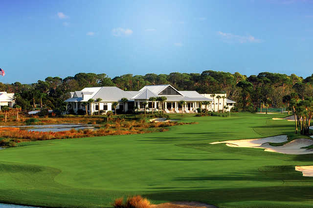 A view of a fairway at Coral Creek Club