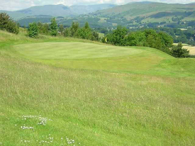 Sloping fairways and greens test your game at Kendal
