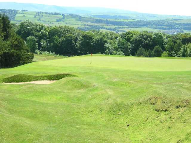 Outstanding views over Cumbria from Kendal golf course