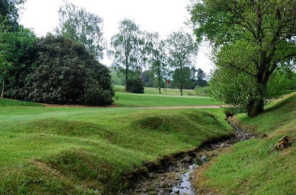 17th hole at Clitheroe