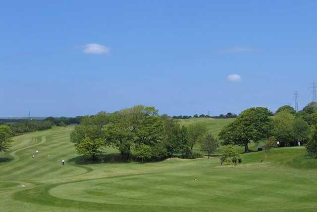8th hole at Bowood Park