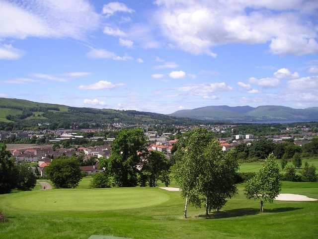 View from Vale of Leven GC