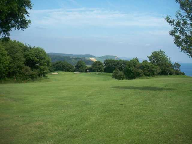 Lovely views of the surroundings across the course
